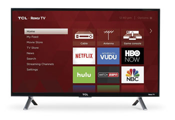 TCL 28S305 Roku Smart LED TV