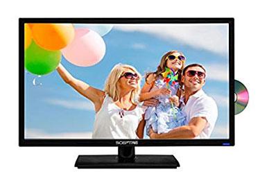 Sceptre E249BD-FMQC 24' 1080P DVD Combo LED HDTV