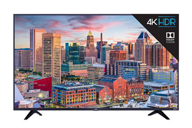 TCL 43S517 43-Inch 4K Ultra HD Roku Smart LED TV (2020 Model)
